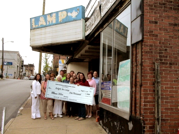 Irwin Business and Professionals Association, Lamp Theatre, Lamp Theater, $1000, donation, Irwin PA